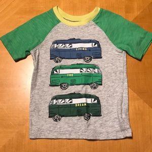 Living the dream toddler baseball t-shirt